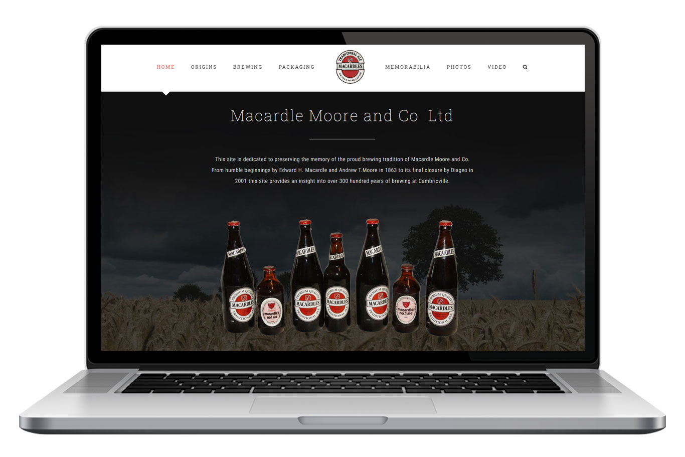 Macard;es Website