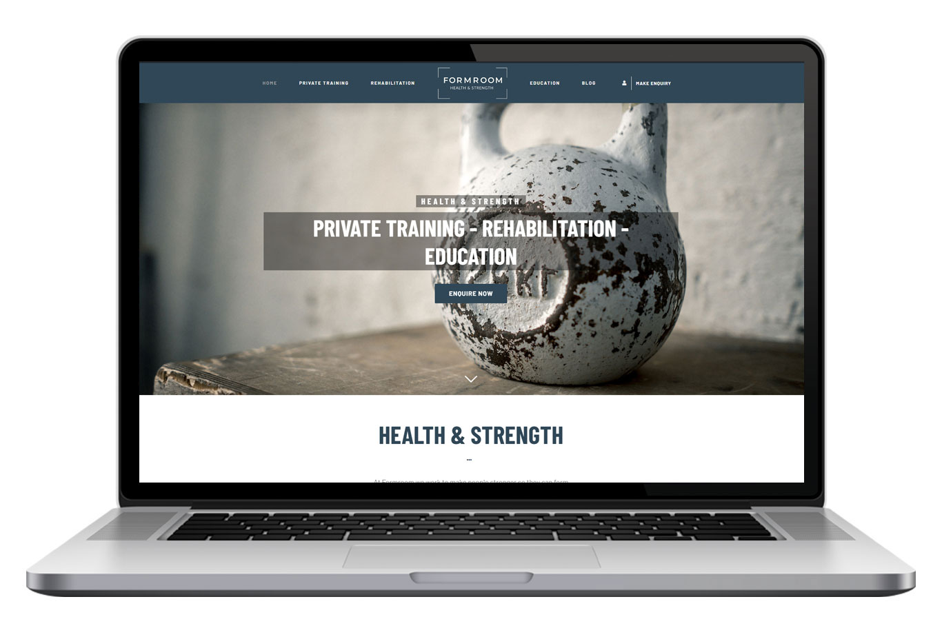 FormRoom Website Design